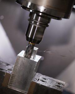 5-Achsbearbeitung auf einem CNC-Bearbeitungszentrum