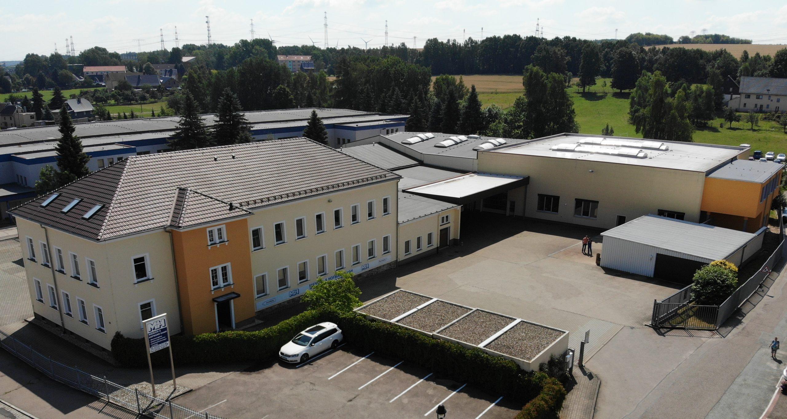Das Firmengelände der Mieruch und Hofmann GmbH