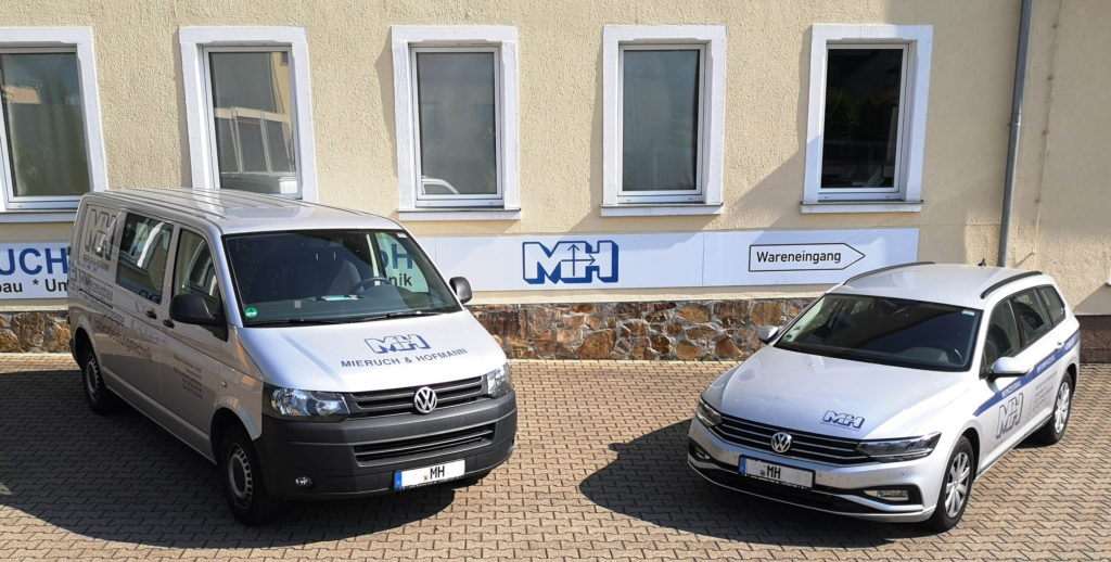 Firmenwagen für Serviceeinsätze